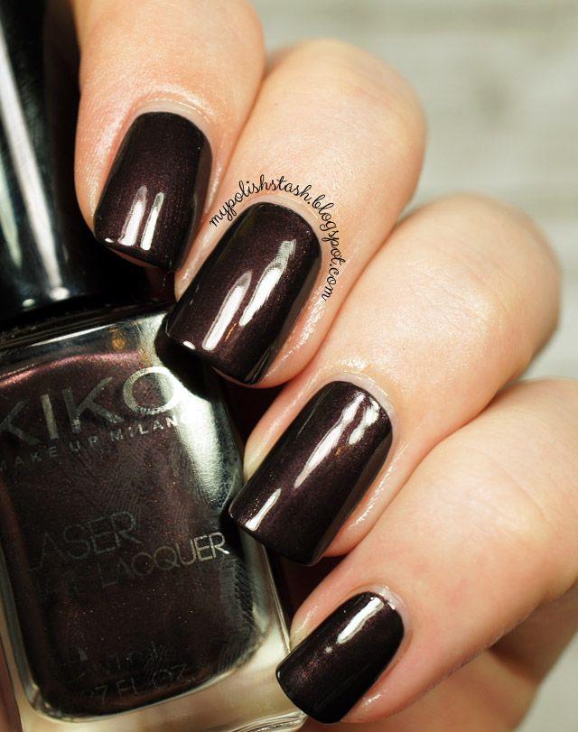My Polish Stash: Kiko Laser Nail Lacquer ~ 436 Strong Chocolate