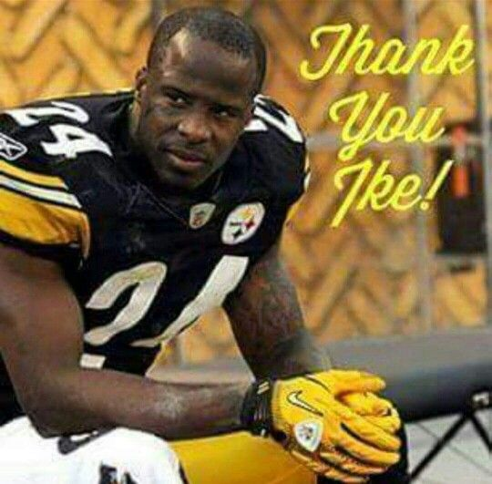 A true shut down corner every week one on one against the other teams best he will truly be missed... Thank you Ike
