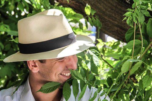 Roma straw hat