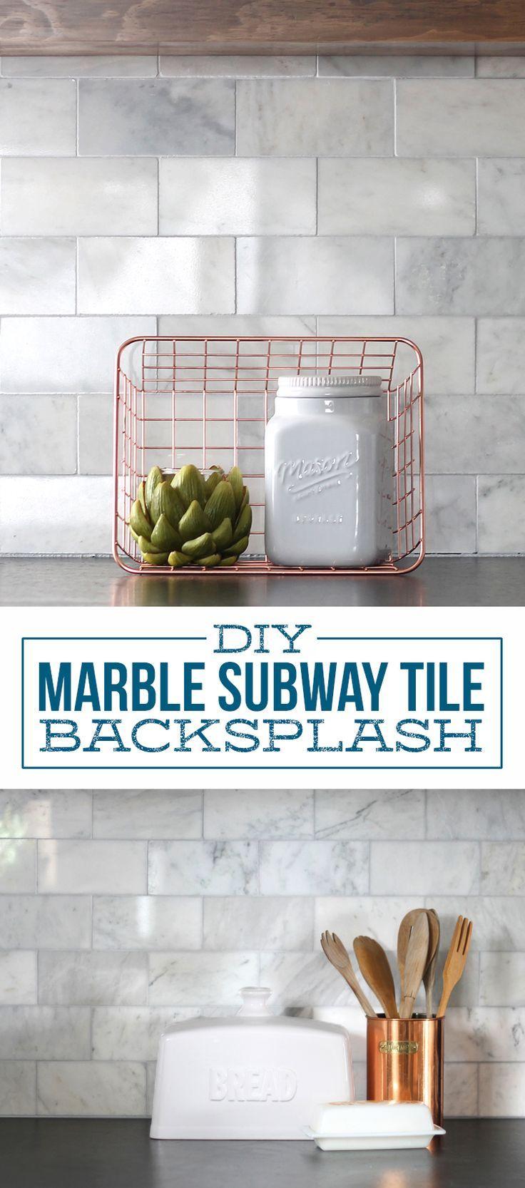 Best 25+ Marble tile backsplash ideas on Pinterest