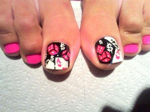las vegas nail by maxzero - Nail Art Gallery nailartgallery.nailsmag.com by Nails Magazine www.nailsmag.com #nailart