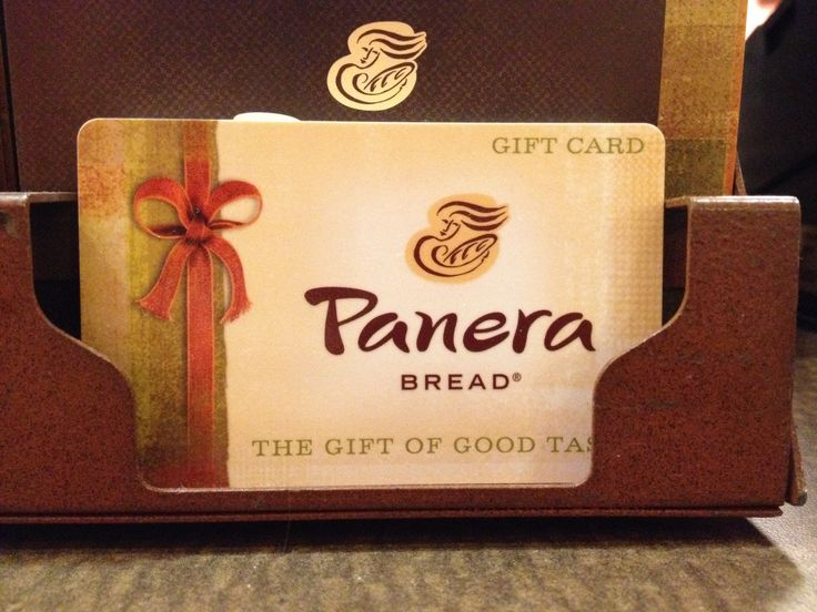 Panera gift card-- because what college kid can't use some more food!