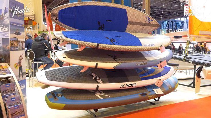 Interview 360° au stand Hobie du Nautic 2017 | Stand up paddle passion, le web magazine du sup.