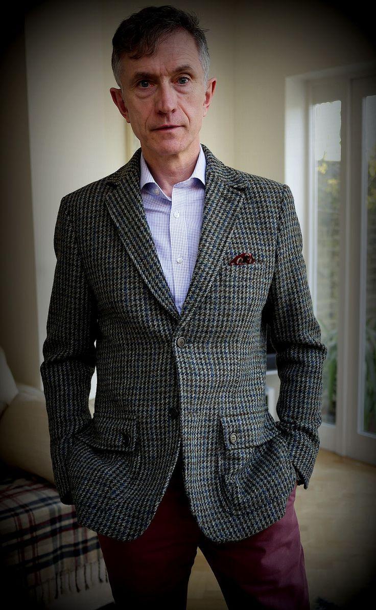 Tweed Jacket Men Fashion Blog