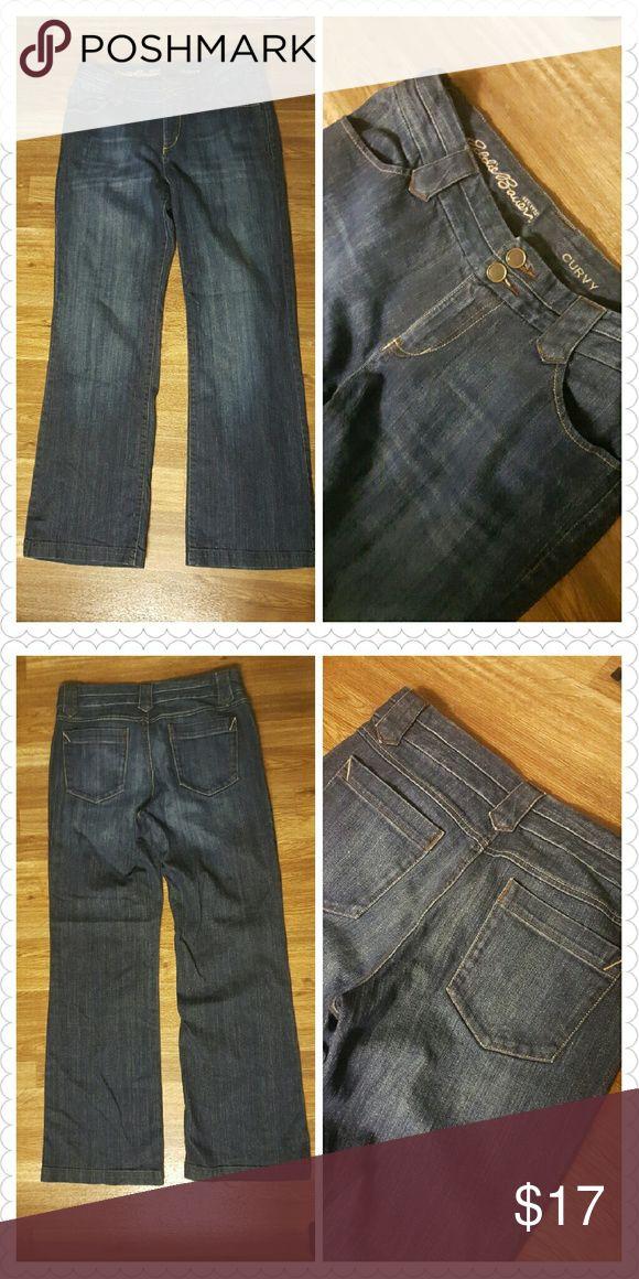 Eddie Bauer Curvy Jeans Eddie Bauer Curvy jeans Great quality! Straight leg Eddie Bauer Jeans