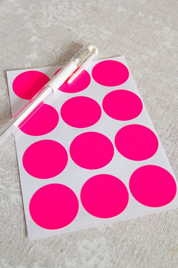 """3/"""" Vert Rond Code Couleur Inventaire Label Dots Stickers"""