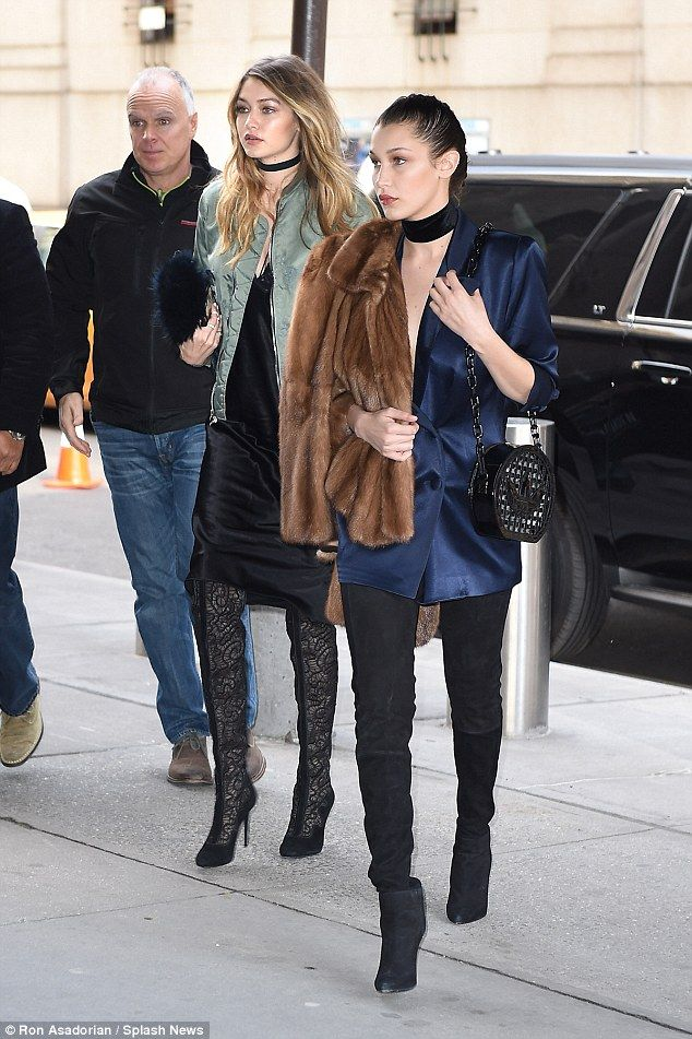 Slink siblings: Gigi and Bella Hadid showed off their similarities and differences in comp...