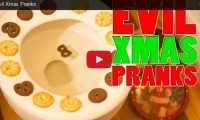Evil Xmas Pranks Evil indeed, lol. There goes the 'joy' in a joyful holiday. We are not liking these evil (but fun) pranks too much but maybe you will!…