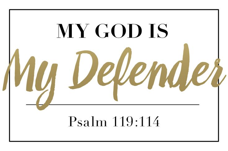 My God Is... Defender   Psalm 119:114