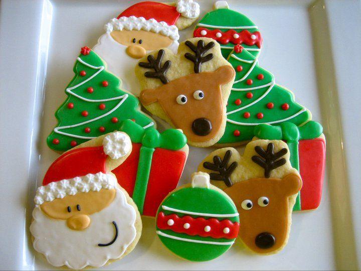 christmas cookies // galletitas navideñas