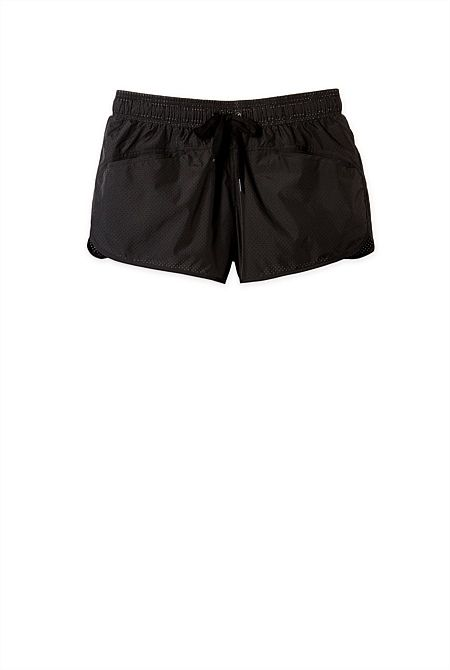 Health Goth // Country Road / Run Base Perforated Short