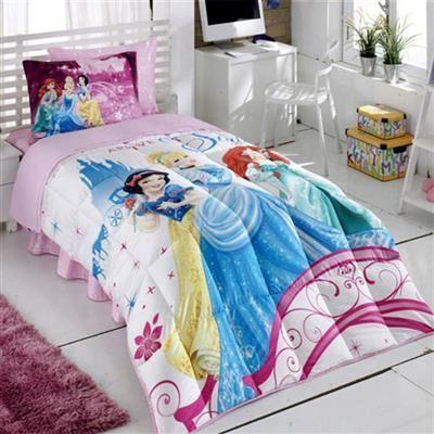 Kristal Disney Princess Tek Kişilik Lisanslı Uyku Seti   cazip geldi