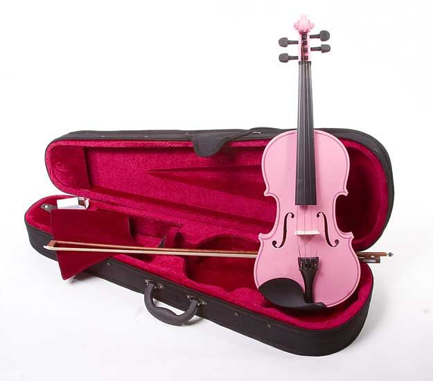Violin music can still be pink!