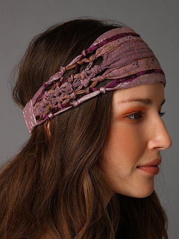 Macrame Knotted Headband
