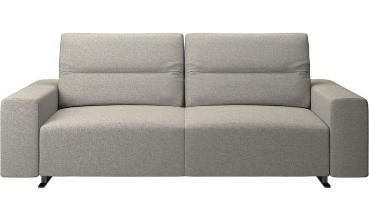 Bonus Products - Sofá Hampton con respaldo ajustable - En gris - Tela