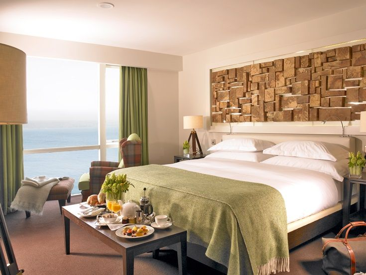 Come and enjoy an overnight stay in a Deluxe Seaview Room, at the Cliff House Hotel