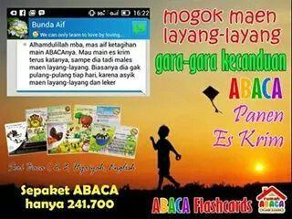 Asyiknya Belajar Membaca, Full Game Menarik, Pesan Skrg Untuk Buah Hati. Sepaket ABACA Rp 241.700 CP. 085731434109