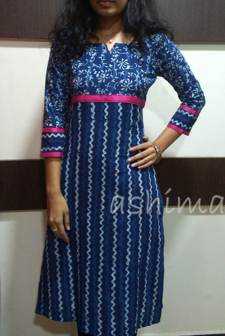Code:0712155-Block Printed Cotton-Price INR:790/- All sizes available. Free shipping to all courier destinations in India. Online payment through PayUMoney / PayPal