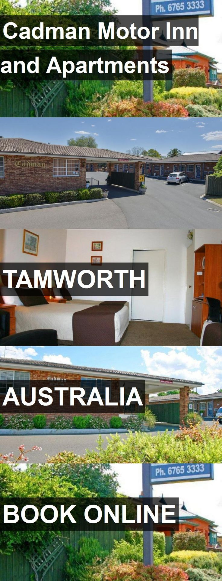 Cadman Motor Inn and Apartments in Tamworth, Australia. For more information, photos, reviews and best prices please follow the link. #Australia #Tamworth #travel #vacation #apartment