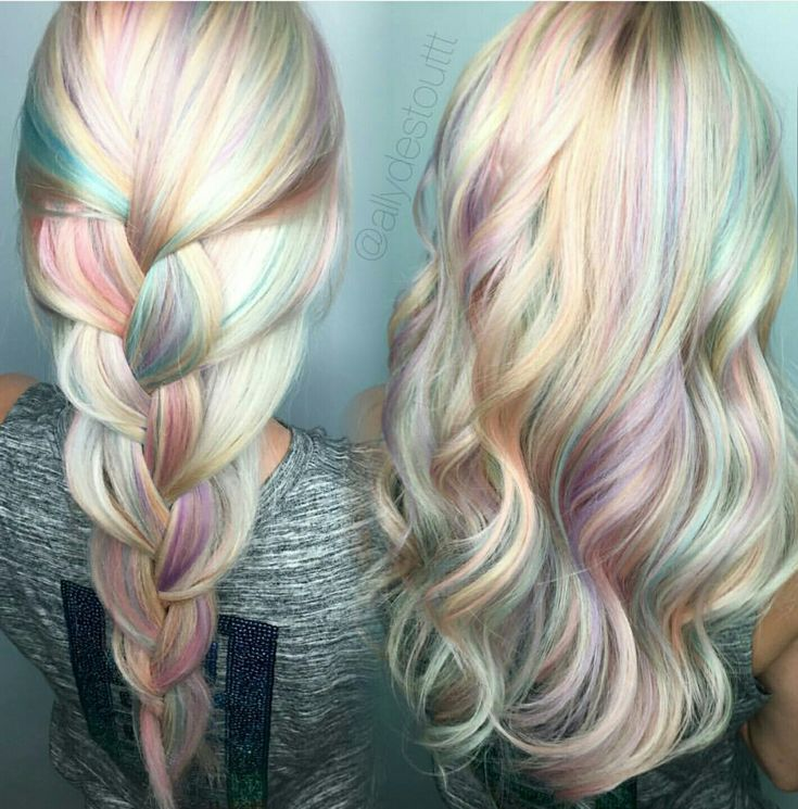 Best 25 Pastel Highlights Ideas On Pinterest Colored