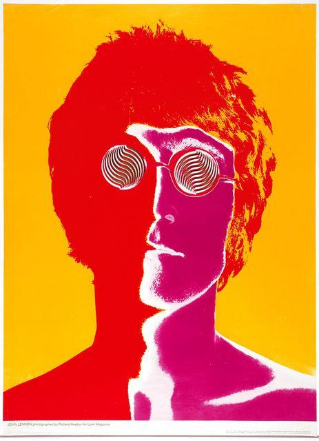 Poster: John Lennon, 1967. Designed by Richard Avedon.