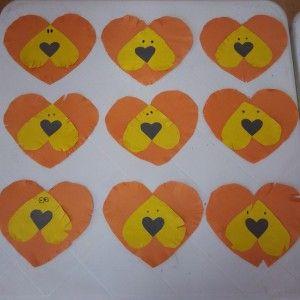 heart lion craft