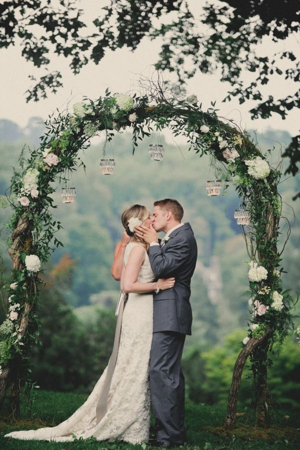 A most beautiful floral arch