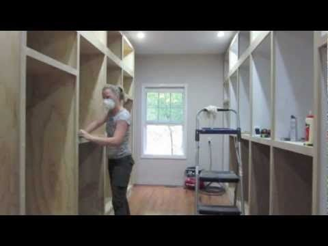 DIY Walk In Closet Renovation... Inspiring! I Could Probably Do It