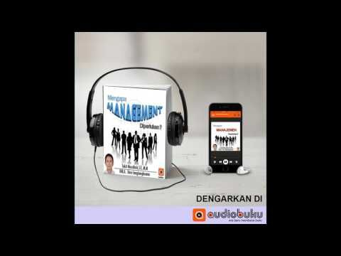 Mengapa Manajemen Diperlukan - Podcast Indonesia - AudioBuku