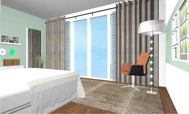 Eigen ontwerp: slaapkamer IKEA producten