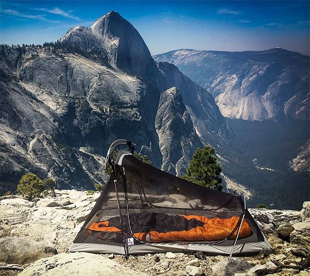 SlingFin 2Lite Tent -- SlingFin is a new tent brand founded by a group of outdoor industry vets who've been focused on making tents worthy of Everest expeditions but they just launched a new line of ultralight tents aimed at backpackers. The 2Lite is a 2-person, 3-season tent that weighs just 2 lbs, 14.1oz. & features nearly vertical walls that make its 28-square foot floor feel even bigger.
