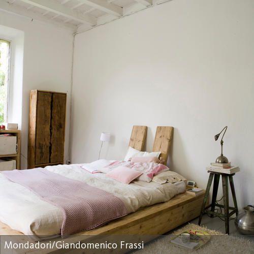 ber ideen zu rustikale betten auf pinterest. Black Bedroom Furniture Sets. Home Design Ideas