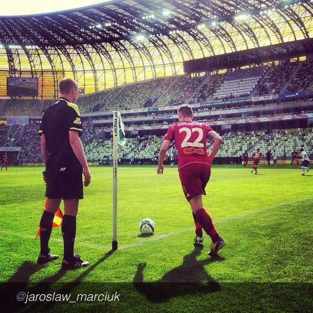 The best pics of Igersgdansk Instareporters. Lechia Gdansk #football #soccer #sport #pgearena #instamood #instagood #bwautiful #igers #instagramers #igerspoland  by @jaroslaw_marciuk via @InstaReposts