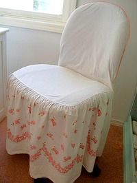 office chair cover tute