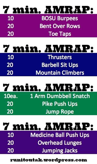 57 Best Images About Amrap Workouts On Pinterest