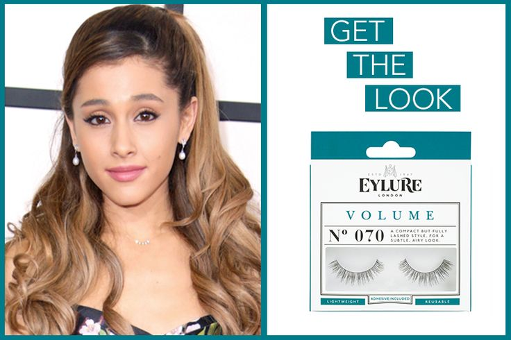Get the 'Ariana Grande' look met de Eylure Volume lashes # 070 [Image via RCFA] #Getthelook