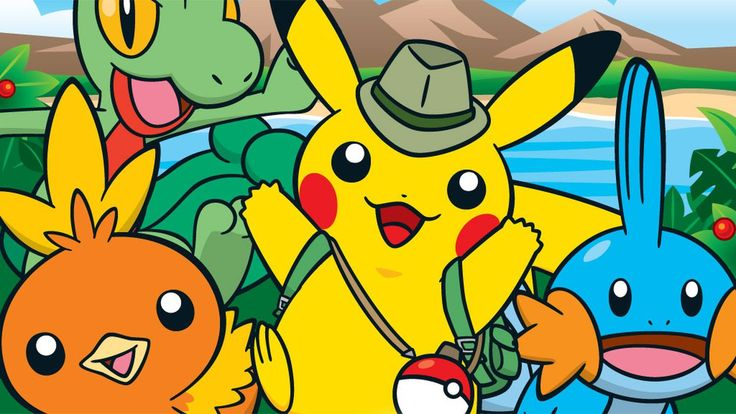 Camp Pokemon HD Wallpaper Wide
