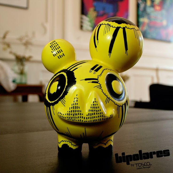 Ceramic Toy | Bipolares Collection | © Tosca.lab, Portugal  [ Design and artwork by Ricardo Milne | 2013 ] ...
