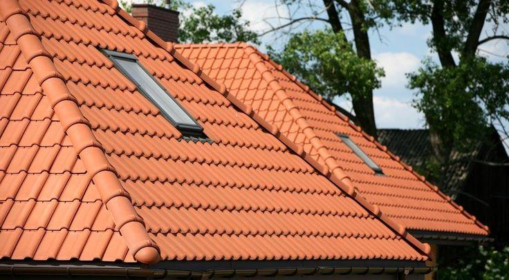 Znalezione obrazy dla zapytania dachówka ceramiczna dom ceglany