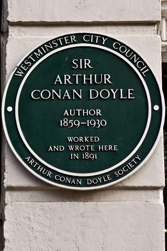 Sir Arthur Conan Doyle, thank you for giving us the amazing Sherlock Holmes.