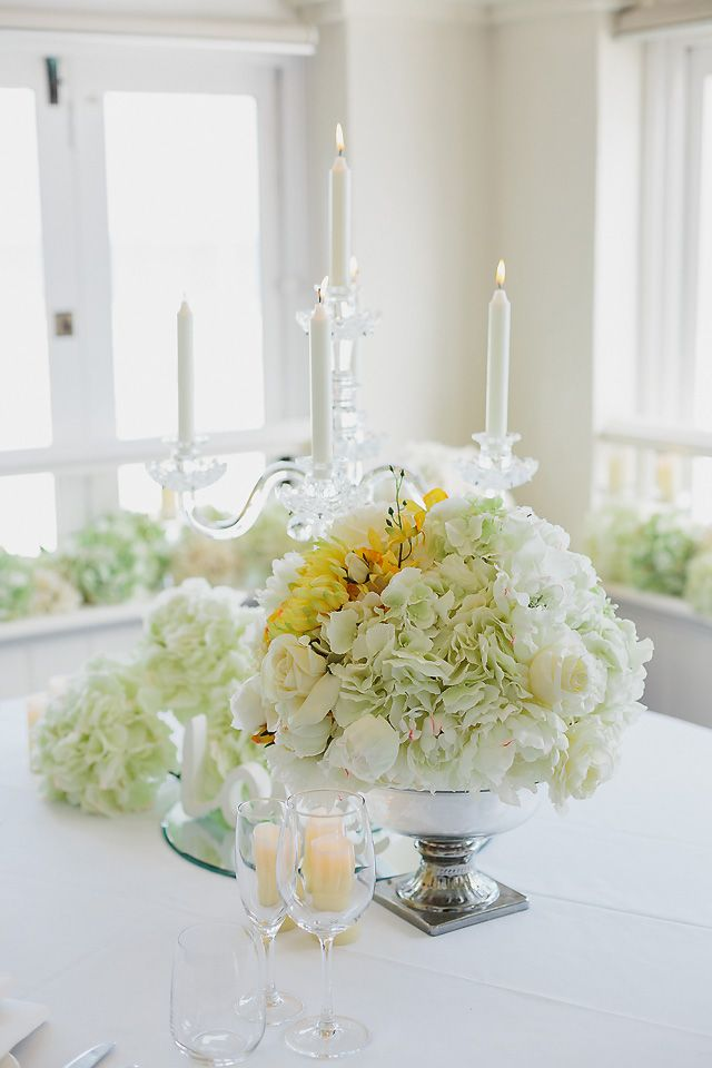 We loved styling with yellow and whites.
