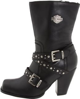 Harley Davidson Boots: Harley Davidson Boots - Women's Obsession Motorcycle Boot