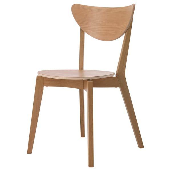 Bild Ansehen 1 Von 3 Esszimmerstuhl Stuhl Eiche Kuchenstuhle Ikea