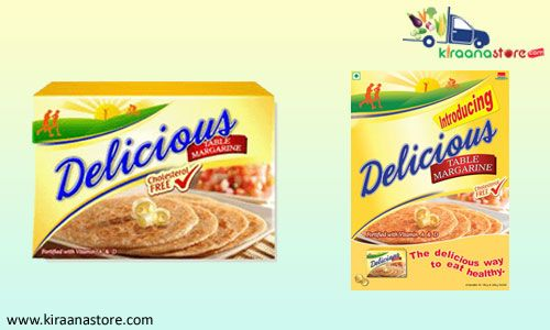 Buy Delicious Table Margarine 500 gm Online and also get Home delivery for all other Groceries.