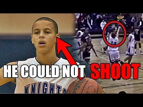 He COULDN'T Shoot Normally in High School Basketball But Became an NBA Star - YouTube