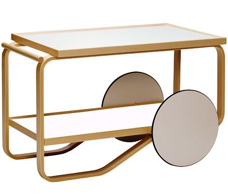tea trolley 901 - by Alvar Aalto, 1936