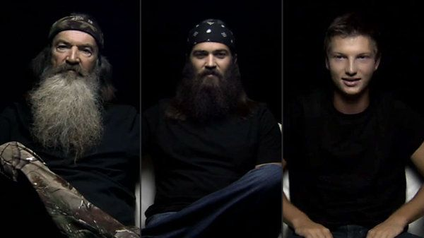 "Three men of the ""Duck Dynasty"" empire — Phil Robertson, Jep Robertson, and Reed Robertson — opened up about their paths to Jesus for a 30-minute documentary on IamSecond.com."