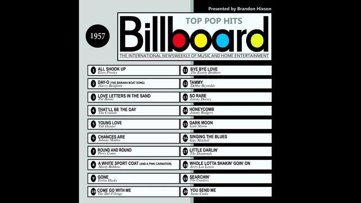 Billboard Top Pop Hits 1957 (2016 Full Album)
