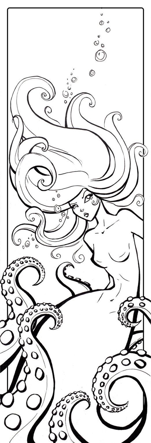 132 best lineart mermaids images on pinterest coloring books