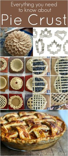 Everything you need to know about Pie Crust ~ plus a recipe for Perfect Pie Crust